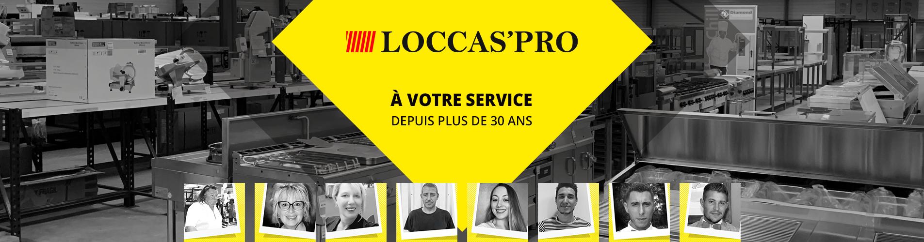 Loccaspro à votre service depuis plus de 30 ans