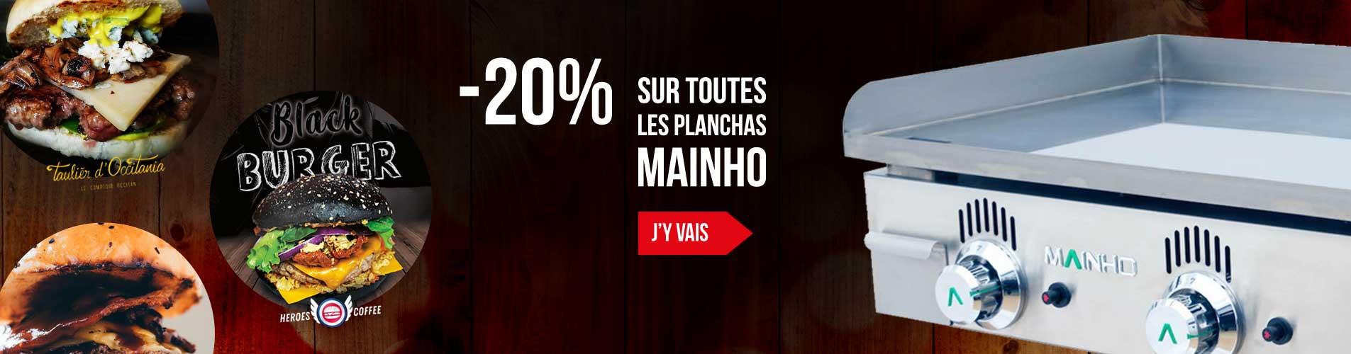 Promotion Plancha Mainho